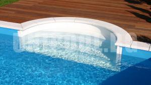 Правоъгълен басейн 3.0 x 6.0 x 1.5 m