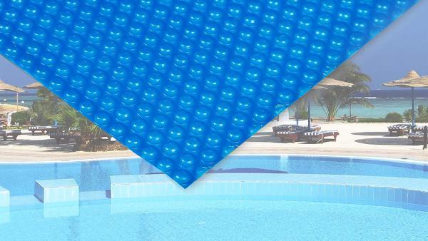 Фолио за басейн - как да избегнем изсветляването и образуването на бръчки по фолиото