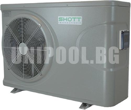 Термопомпа за басейни SHOTT Модел: BP-110HS-AP