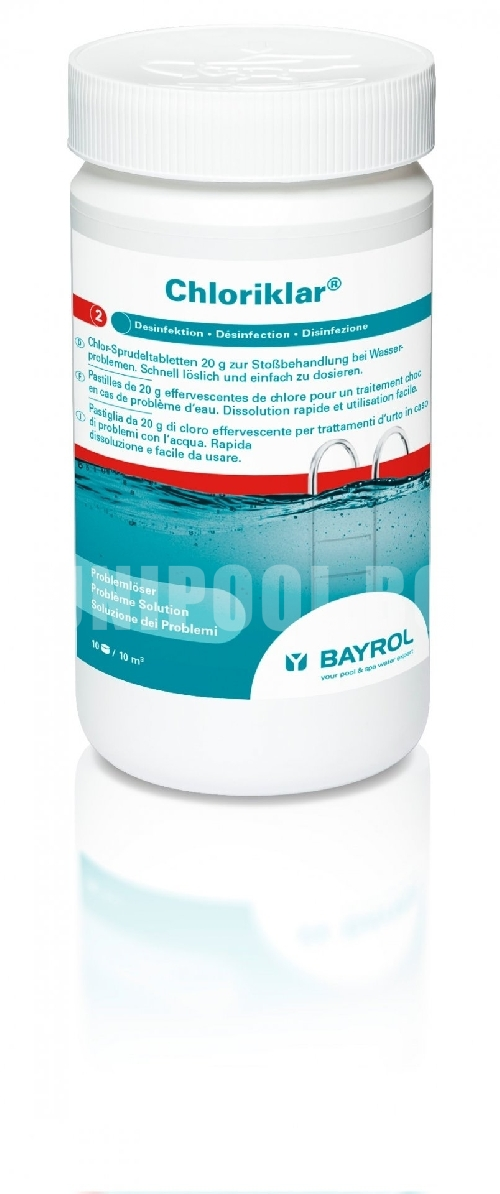 BAYROL Chloriklar® бързоразтворими таблетки