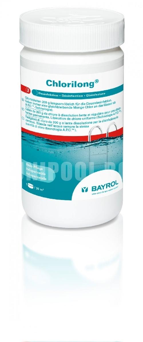 Bayrol Chlorilong Бавноразтворими таблети 200® 5 KG