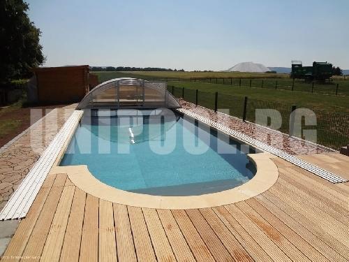 Правоъгълен басейн 5.0 x 10.0 x 1.5 m