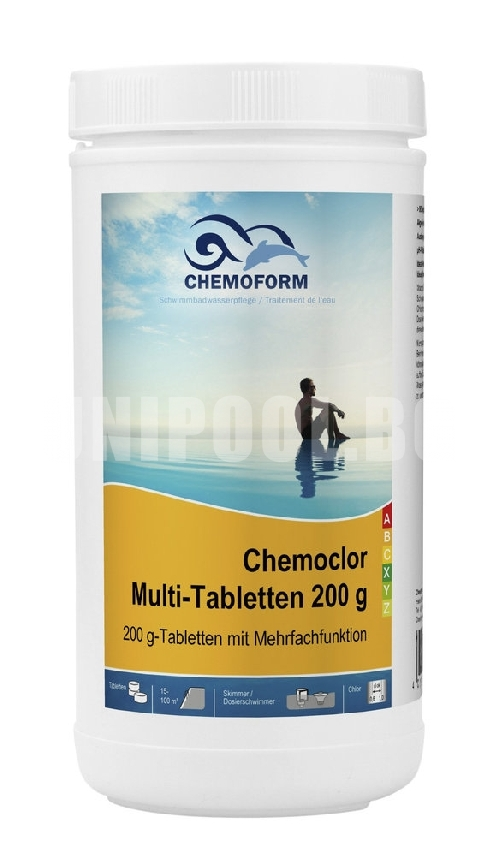 Chemoclor Multi-Tabletten (200g) Мултифункционални таблетки 1,0 kg
